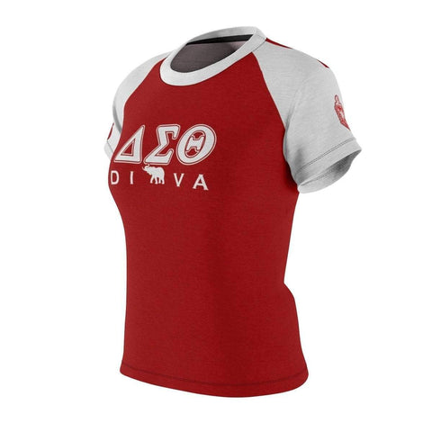 Image of Delta Sigma Theta DIVA AOP Tee - Unique Greek Store