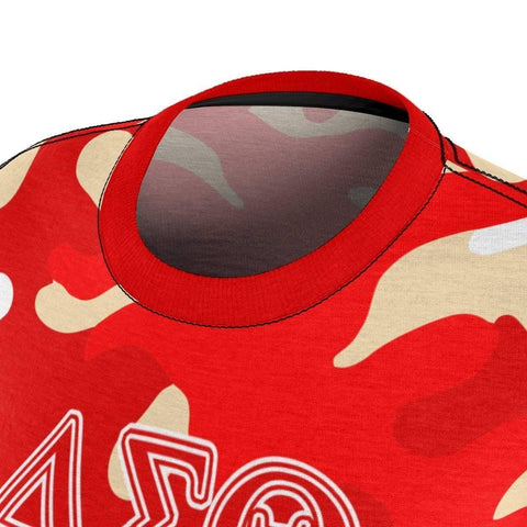 Image of Delta Sigma Theta Camouflage Tee - Unique Greek Store