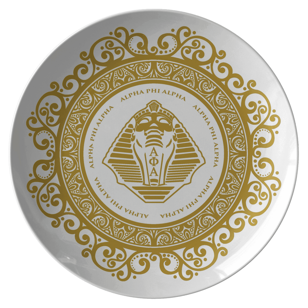 Alpha Phi Alpha Plate - Unique Greek Store