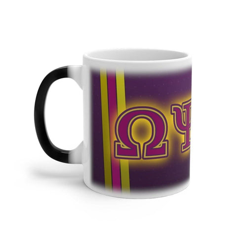 Image of Omega Psi Phi Changing Mug - Unique Greek Store