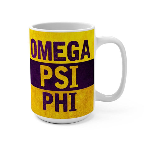 Omega Psi Phi Best Dad Ever Mug