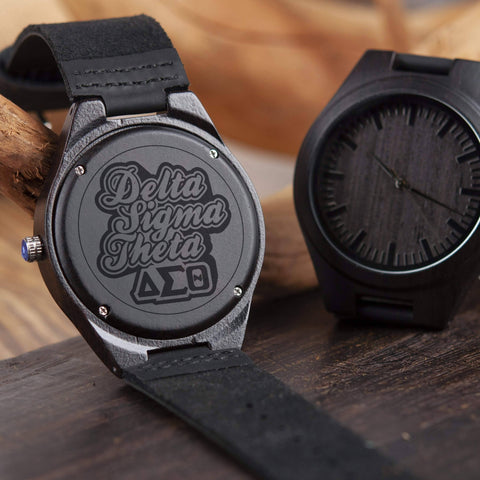 Image of Delta Sigma Theta Engrave Watch
