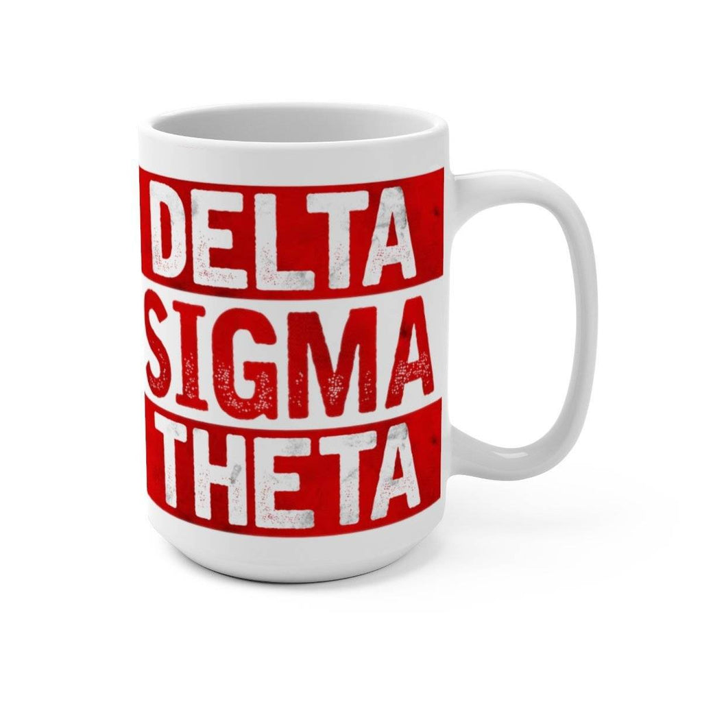 Delta Sigma Theta Best Dad Ever Mug