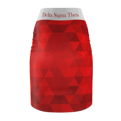 Delta Sigma Theta Pencil Skirt II - Unique Greek Store