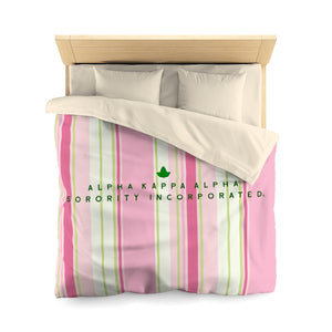 Alpha Kappa Alpha Sorority Incorporated Duvet