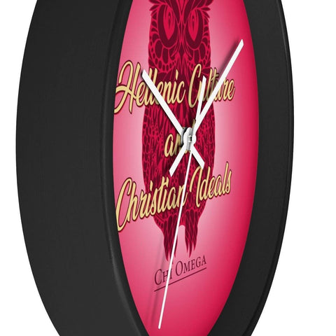 Chi Omega Wall clock - Unique Greek Store