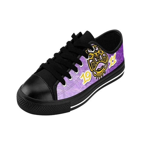 Image of Omega Psi Phi Emblem Sneakers - Unique Greek Store