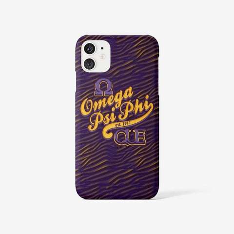 Omega Psi Phi 1911 Iphone 11 Case