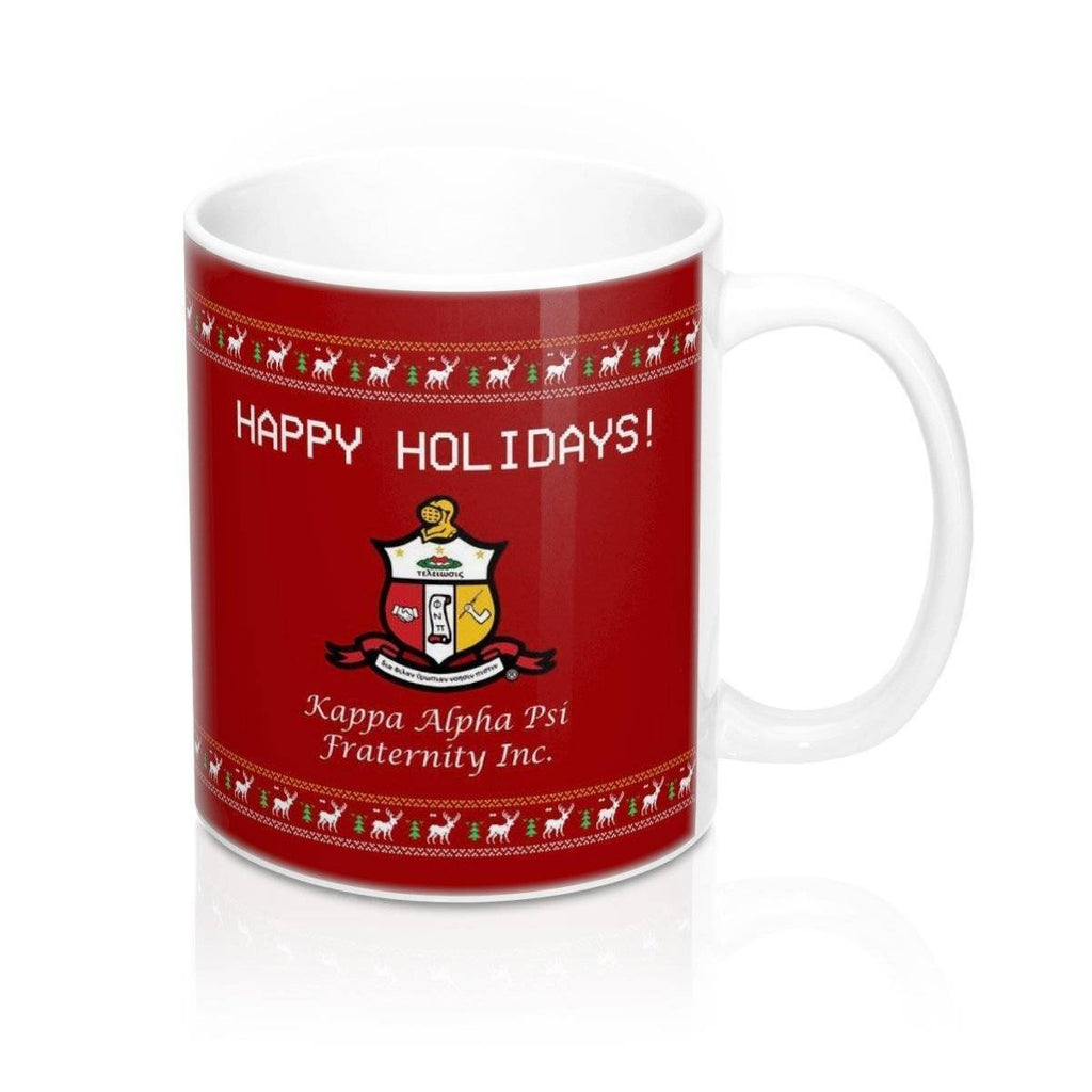 Christmas Mugs.Kappa Alpha Psi Christmas Mugs