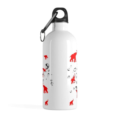 Image of Delta Sigma Theta Stainless Steel Water Bottle - Unique Greek Store