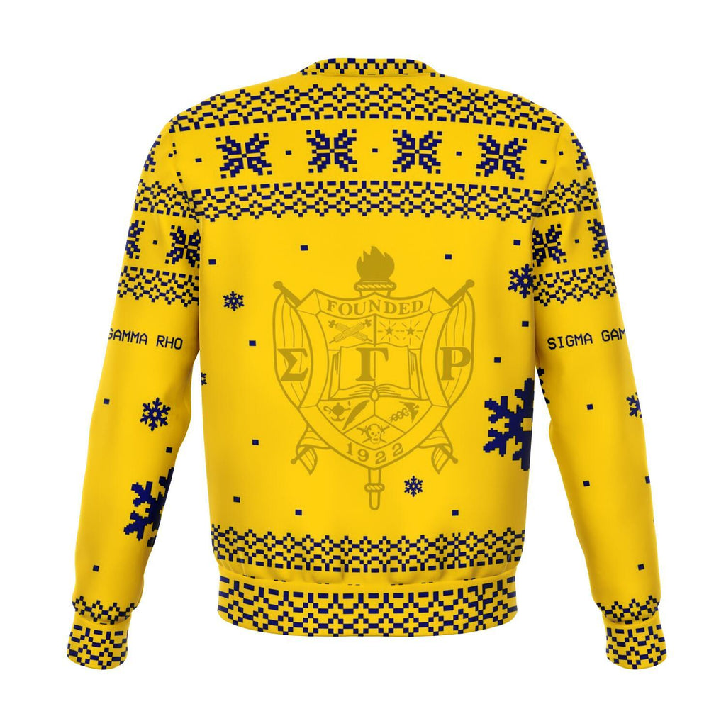 Sigma Gamma Rho Christmas Holiday Ugly Sweater
