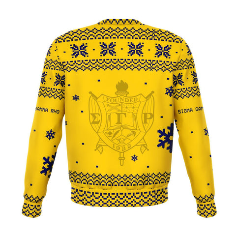Image of Sigma Gamma Rho Christmas Holiday Ugly Sweater