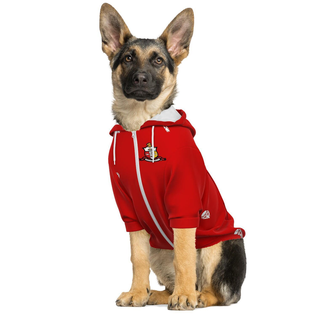 Kappa Alpha Psi Fashion Dog Zip-Up Hoodie