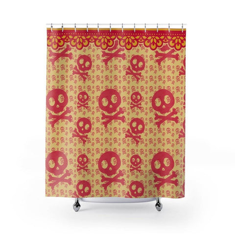 Image of Chi Omega Shower Curtains - Unique Greek Store