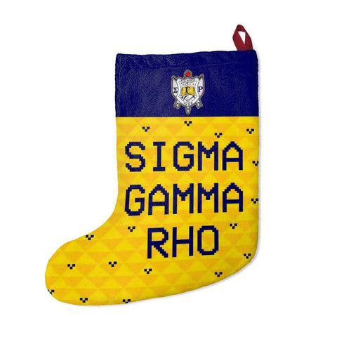 Image of Sigma Gamma Rho 2018 Christmas Stockings - Unique Greek Store