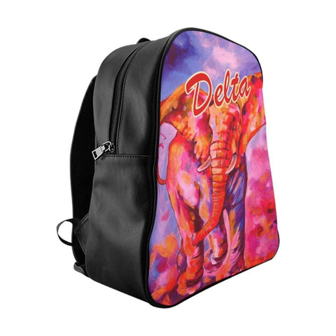 Image of Delta Sigma Theta Artistic Design Backpack