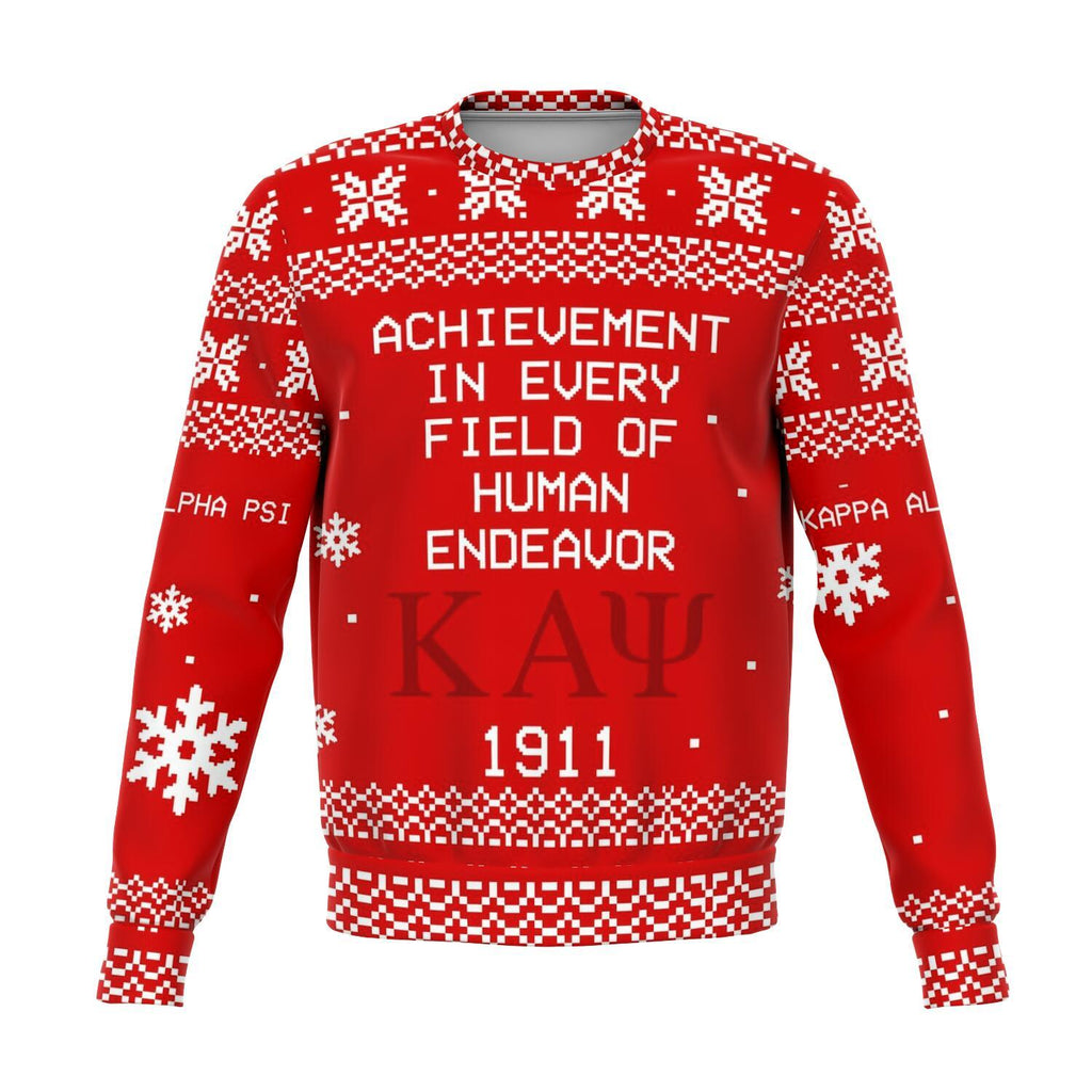 Kappa Alpha Psi Christmas Holiday Ugly Sweater