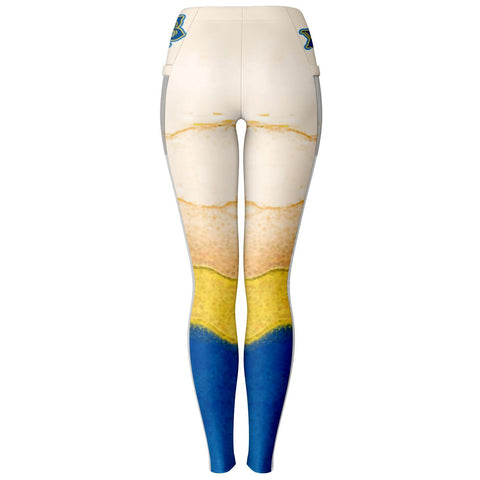 Image of Sigma Gamma Rho Mesh Pocket Leggings
