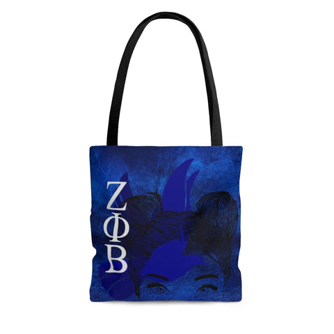 Zeta Phi Beta Women Portrait Design Tote