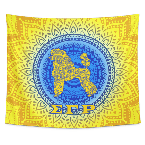 Image of Sigma Gamma Rho Tapestry - Unique Greek Store