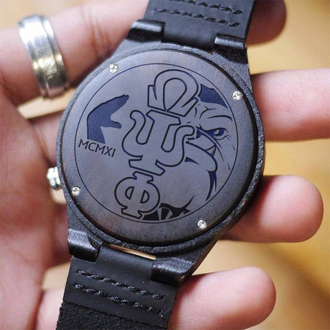 Image of Omega Psi Phi Engrave Watch