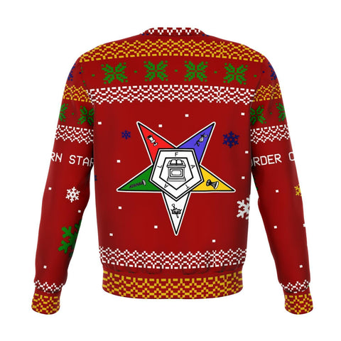 Image of Order of the Eastern Star Christmas Holiday Ugly Sweater