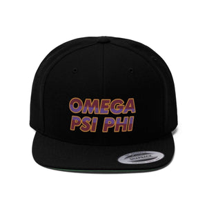 Omega Psi Phi Snaphat - Unique Greek Store