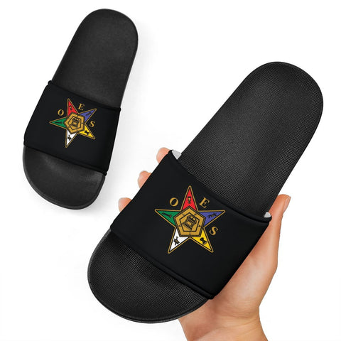 Image of Order of the Eastern Star Slide Sandals A