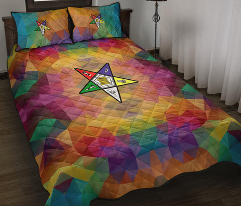 Order of the Eastern Star Quilt Bed Set