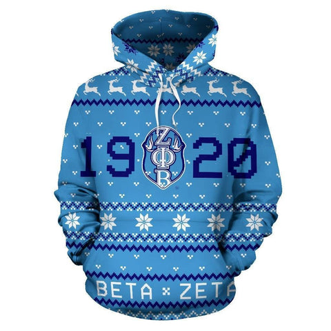 Image of Zeta Phi Beta Ugly Hoodies - Unique Greek Store