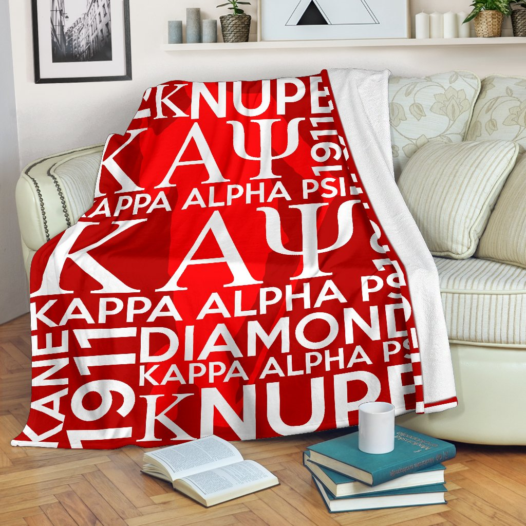 Kappa Alpha Psi Founding Year Blanket
