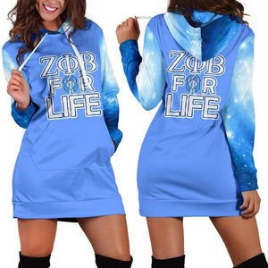 Zeta Phi Beta Hoodie Dress