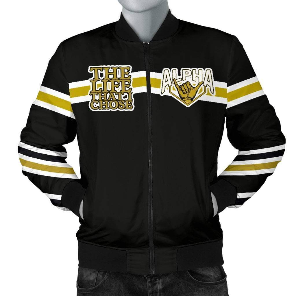 Alpha Phi Alpha Bomber Jacket - Unique Greek Store