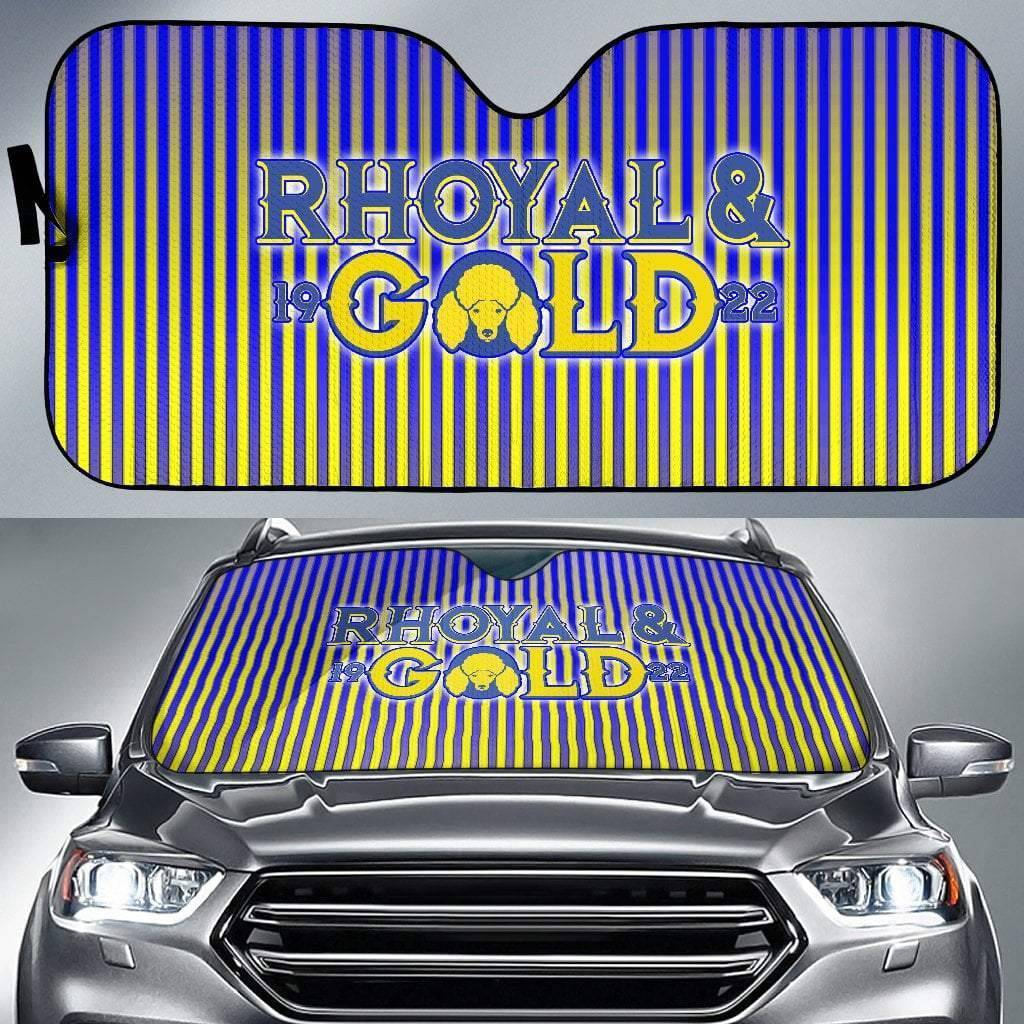 Sigma Gamma Rho Windshield Shade - Unique Greek Store
