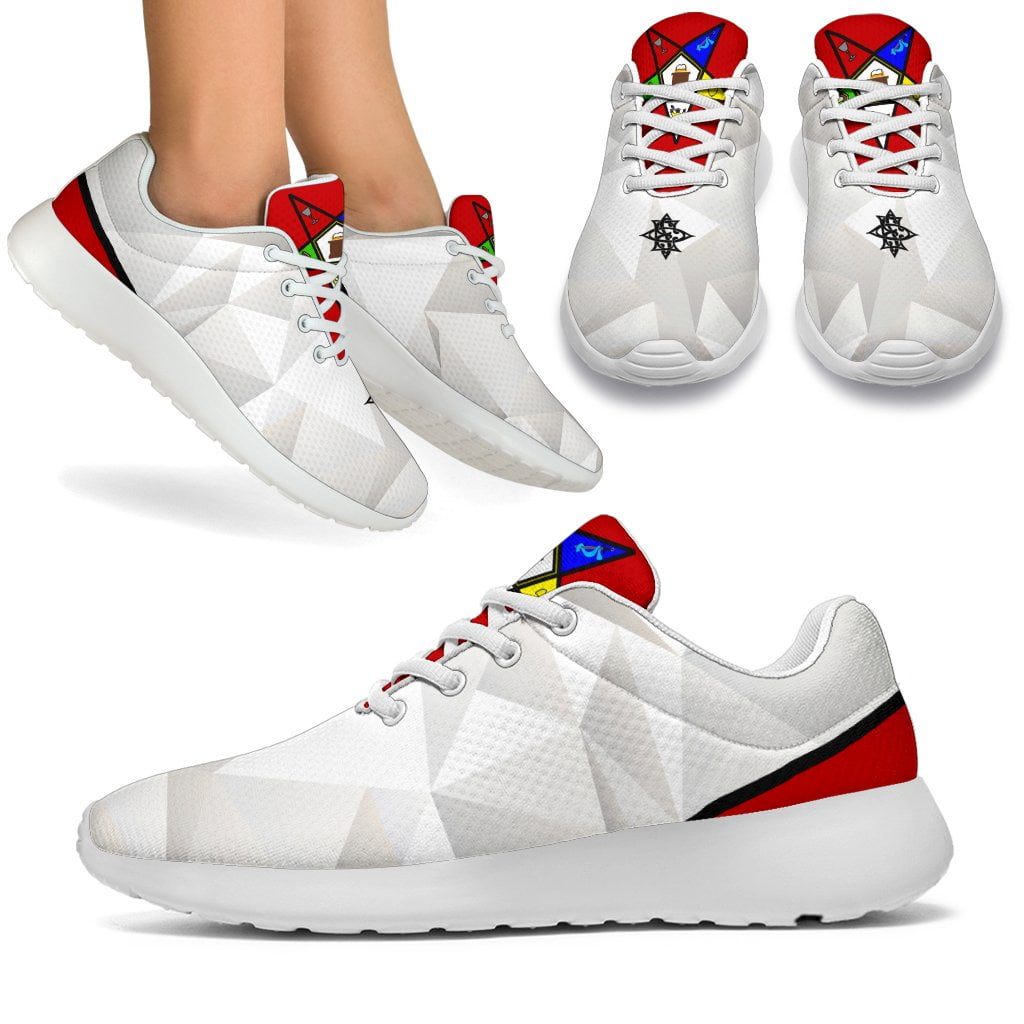 Order of the Eastern Star Emblem Sport Sneakers