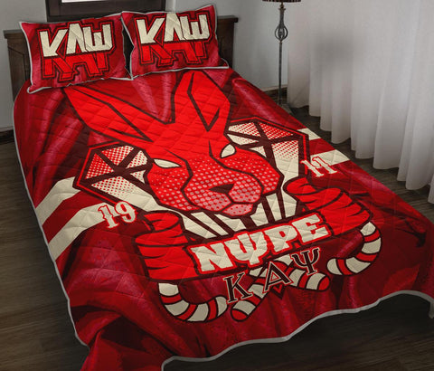 Image of Kappa Alpha Psi Quilt Bed Set