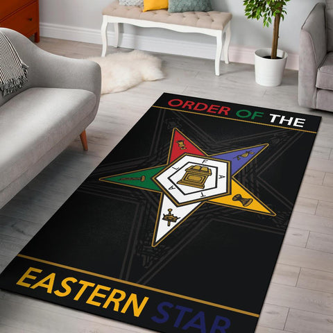 Image of Order of the Eastern Star Area Rug