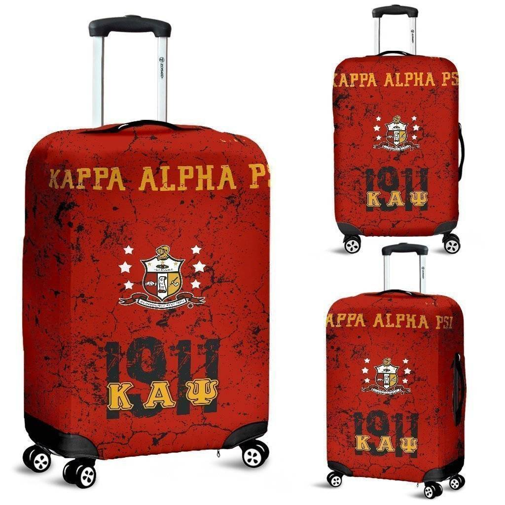 Kappa Alpha Psi Luggage Bag Cover - Unique Greek Store