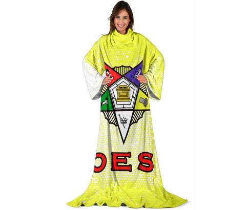 Order of the Eastern Star Adult Sleeve Blanket
