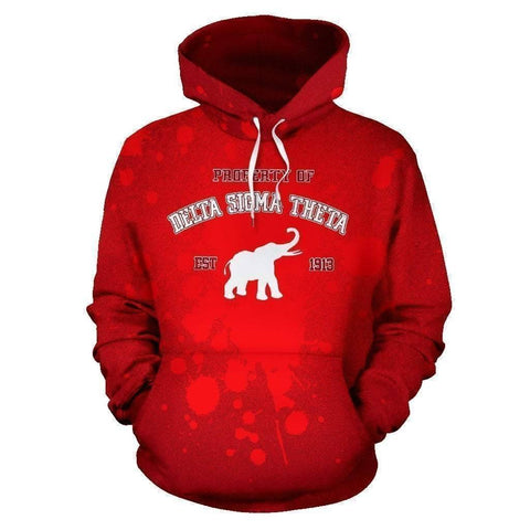 Image of Delta Sigma Theta Founding Year Hoodie - Unique Greek Store