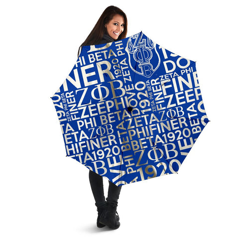 Zeta Phi Beta 1920 Umbrella