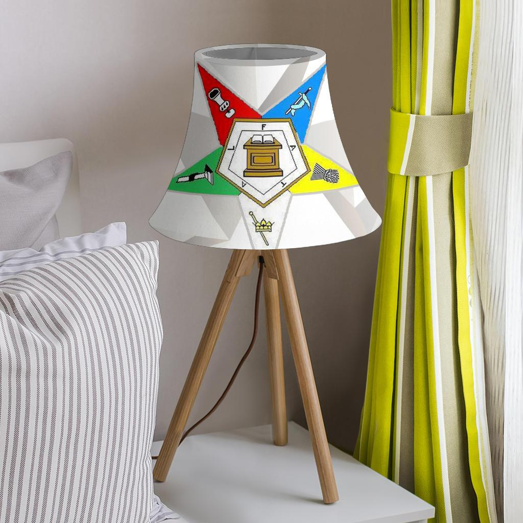Order of the Eastern Star Bell Lamp Shade