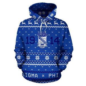 Phi Beta Sigma Ugly Hoodies - Unique Greek Store