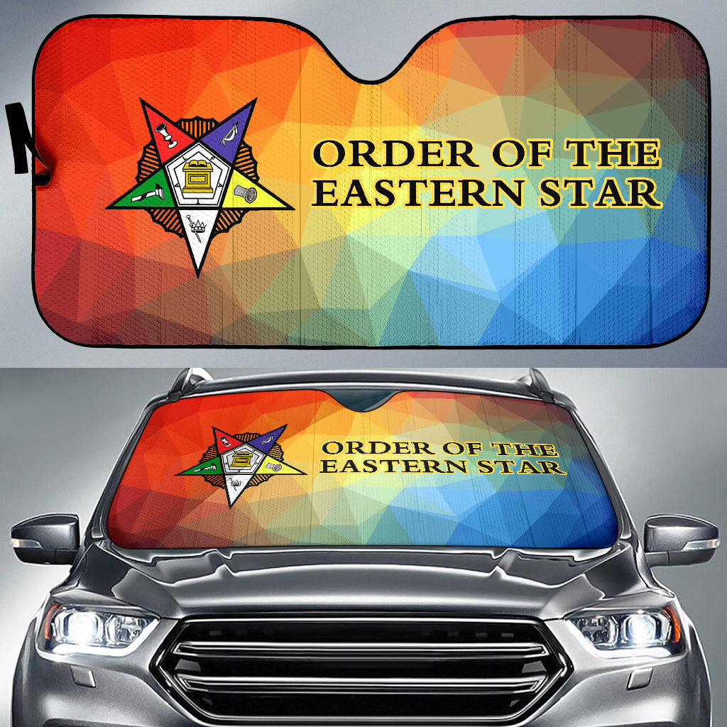 Order of the Eastern Star Auto Sun Shades