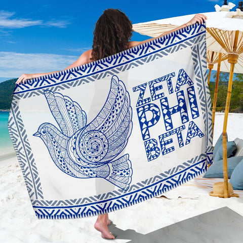 Image of Zeta Phi Beta Sorority Sarong