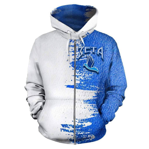 Image of Zeta Phi Beta Zip Up Hoodie
