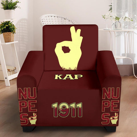 "Image of Kappa Alpha Psi 43"" Chair Slip Cover"