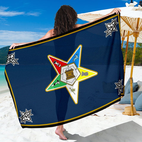Image of Order of the Eastern Star Emblem Sarong
