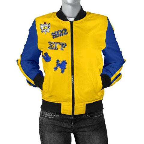 Sigma Gamma Rho Bomber Jacket - Unique Greek Store
