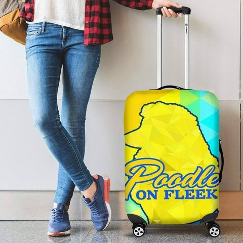Image of Sigma Gamma Rho Luggage Bag Cover - Unique Greek Store